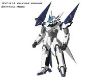 Arwing vf battroid color by masterchieffox-d47wvcn