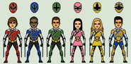 Power rangers samurai sentries mode by stuart1001-dck3tfh