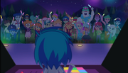 DJ Pon-3 is at the festival