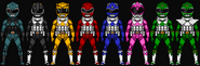 Power ranger sentries by henshindaisuke-db2x3hz