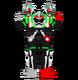 Kamen rider ex aid partners gamer lv xx by joinedzero-dasma8w