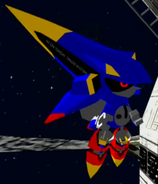 Mecha Sonic Model