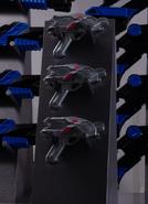 Mass-produced ShotRisers