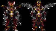 Kamen rider dark zi o ikarus armor by jk5201 ddam7gf-fullview