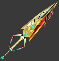 3d preview power to protect xenoblade keyblade by makaihana975 dd2eo23-pre
