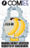 Request fan lock banana energy lockseed by cometcomics-d944gm1