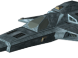 Borderworld Series X Dagger Light Fighter