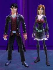 The other boy and girl Vampire costumes.