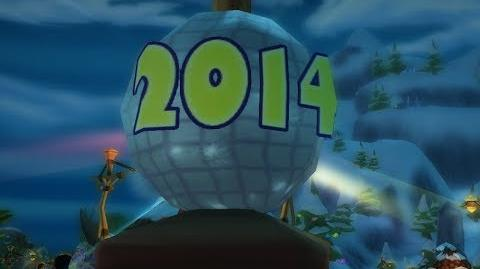 FreeRealms New Year's Ball Dropping Story