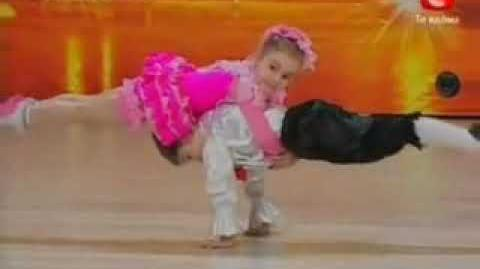 Two Awesome Dancing Kids