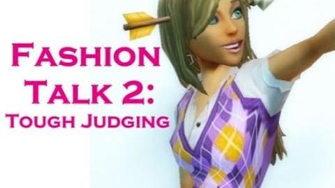 FreeRealms~Fashion Talk 2 Tough Judging