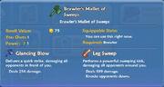 Brawler's Mallet of Sweeps item