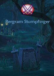 Bergram Stumpfinger's Ghost