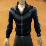 Zippedleatherjacket