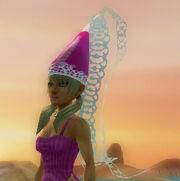 Regal princess hat