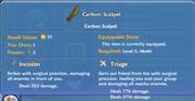 Carbon Scalpel item