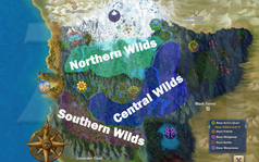 Free Realms Wilds Regions