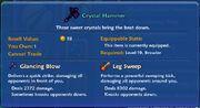 Crystal Hammer item