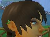 Upper-right Hoop Earrings