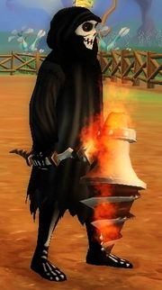 Brawler's Flair Shard of Fire held
