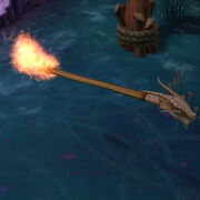 Dragon broom