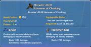 Brawler's Drill Hammer of Chucking item
