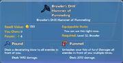 Brawler's Drill Hammer of Pummeling item