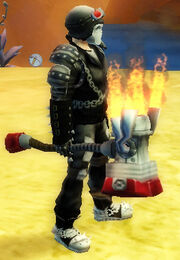 Brawler's Forged Hammer of Challenge held