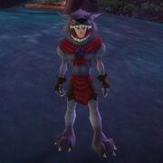 Grey werewolf outfit