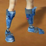 Clockwork feet