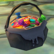 Cauldron candy bag