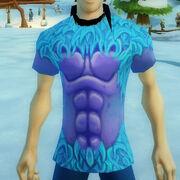 Frosty yeti t-shirt