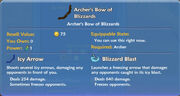 Archer's Bow of Blizzards item