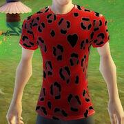 Leopardsafaritshirt