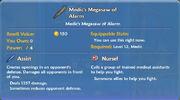 Medic's Megasaw of Alarm item