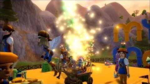 Free Realms Mystic Mayhem's 3rd Birthday Celebration!