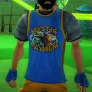 Mystic mayhem staff shirt