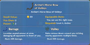 Archer's Horse Bow of Volleys item