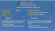 Brawler's Anvil Hammer of Dirt Kick item
