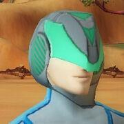 Nefarious helmet