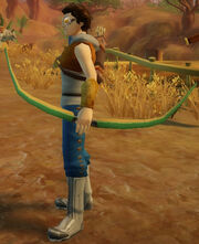 Archer's Composite Bow of Volleys held