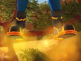 Molten Precursor Hover Boots