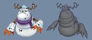 FreeRealms snowmanBoss 3D