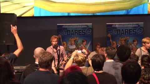 The Dares Perform at E3 and in Free Realms