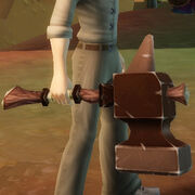 Decorative hammer