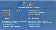 Wizard's Sparkle Twig of Glaciers item
