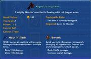 TT Angro's Vanquisher item