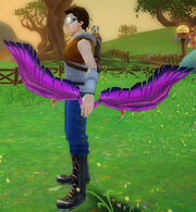 Archer's feathered bow of ragnarok