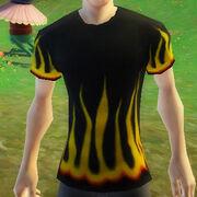 Fancyflamestshirt