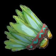 Icon item freestyle race gender head naturefeatherheaddress freestyle-greenfeathers-P